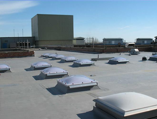 Eastbourne Hospital Flat Roofing